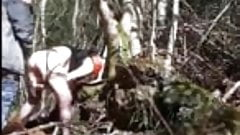 Tranvestite Pussy Riot fucked Outdoors
