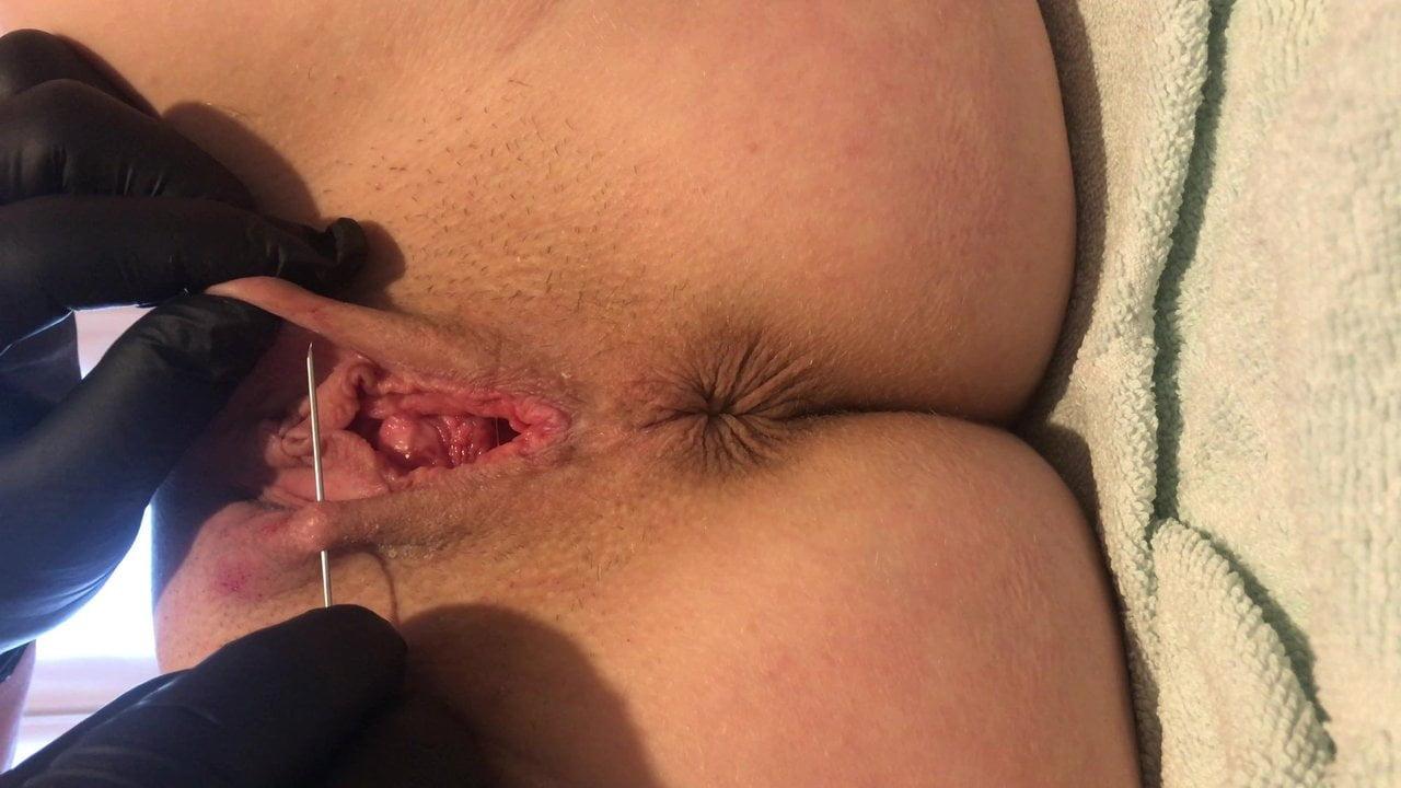 Naked girls and women having butt sex