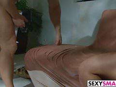 Slutty Petite Vanessa Sixxx Gets Slammed