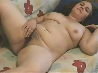 Young Fat BBW Teen playing with her Juice hairy Pussy