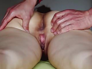 I reach the climax during the vaginal massage