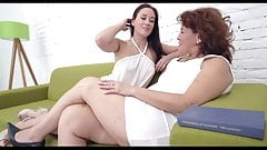 Young Beautiful Girl Seduces Granny