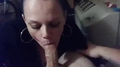 Neighbors wife blowing me
