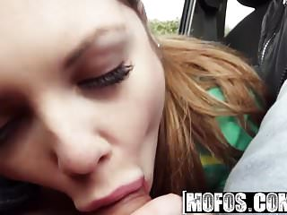 Mofos - Stranded Teens - Alessandra Jane - Horny Hitchhiker