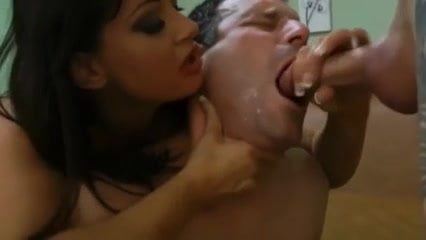 him cum Forcing to