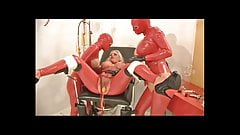 TheRC - Matron In RedRubber DoubleBalloon Catheter PissParty