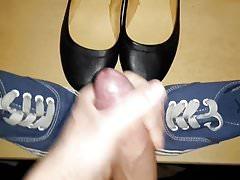 Schuhe der Schwester meiner Freundin gefickt
