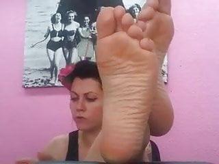 Big Nordic-French Feet of Hazel Blonde Celine Part 2