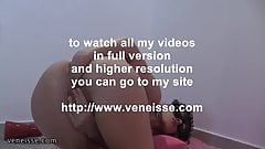 veneisse clothed big pump inside & anal fisting & giant toy