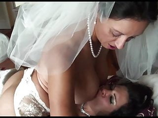 Pm Lesbian Bride And Bridesmaid By Kr