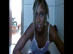 Bathroom jug pee girl.flv