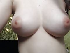 She has the perfect tits on cam