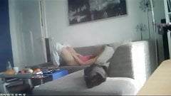 Rare hidden cam german not sister on couch 2