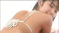 softcore asian schoolgirl bikini tease