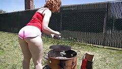 Big ass redhead