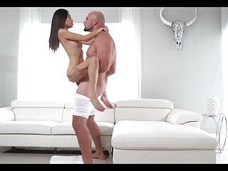 Vina Sky - stand and carry sex with facial cumshot