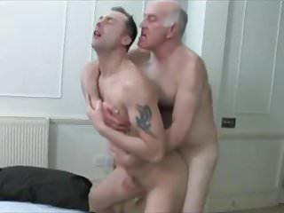 Grandad and his man