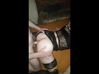 Jessica fucked by 3 daddys