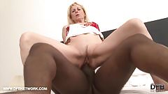 Granny wants black cock in her