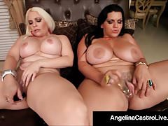 Cuban BBW Angelina Castro & Bedelli Buttland Bang Wet Cunts