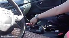 Pedal Pumping - Audi s4 - Carli Evelyn - Fetish