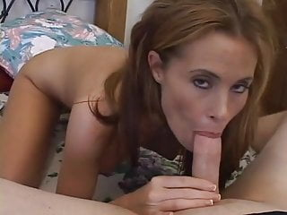 Stoned Blonde MILF getting fucked POV style