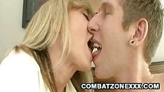 Nina Hartley - Famous Pornstar Milf Having A Young Cock