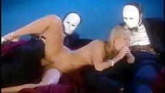 Sophie Evans fucked by masked men