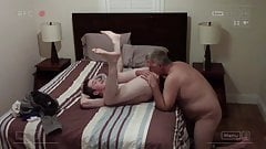 Curious Skater Visits Daddy For A Rimming And Deep Breeding