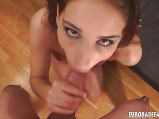 Eurobabefacials Cute escort gives amazing blowjob