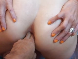 54-year-old Milf keeps her back hole tight and ready