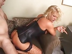 Sexy mature shemale nailed in the office