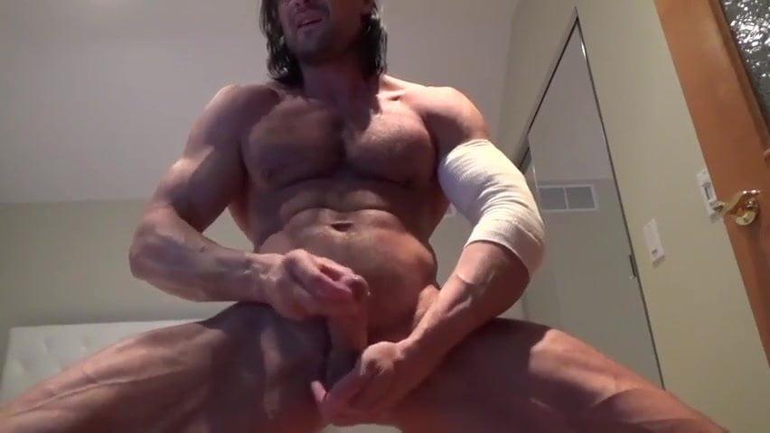 gay muscle porn clip: Str8 muscle god jerk, on hotmusclefucker.com