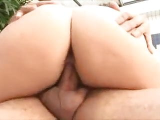 Big ass Brazilian fucked in her ass and her pussy