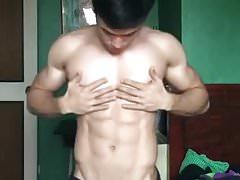 super cute & hot fit asian boy (1'00'')