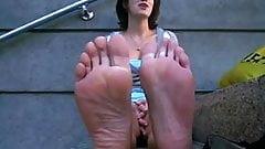 Very Stinky Model Feet