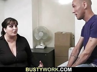 Office bitches anal - He bangs busty bitch in the office