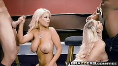 Brazzers - Brazzers Exxtra -  Blowing On Some Other Guy's Di