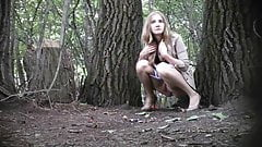 Hidden Cam In Forest Girl Pee Part 5