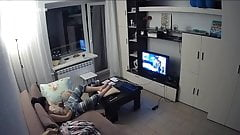 Hidden Cam in Living Room