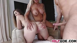 A Very Dirty Mother Daughter Arrangement