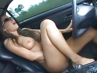Amateur Nude Driving & Blow Job -  full