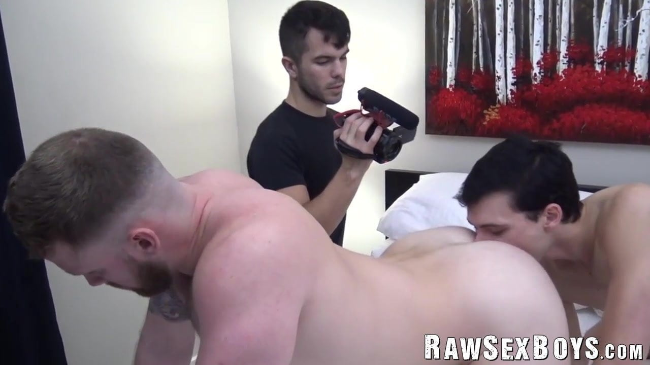 Uncooked ass fucking with twink homo who enjoys rimming his lover
