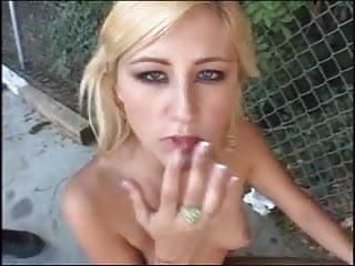 9 loads of sperm swallowed by a naughty blonde