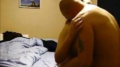Teen doogystyle sex in bed