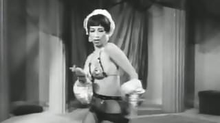 Hot Belly Dancer Does Her Best (1950s Vintage)