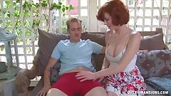 Images - Super handjob with experienced milf