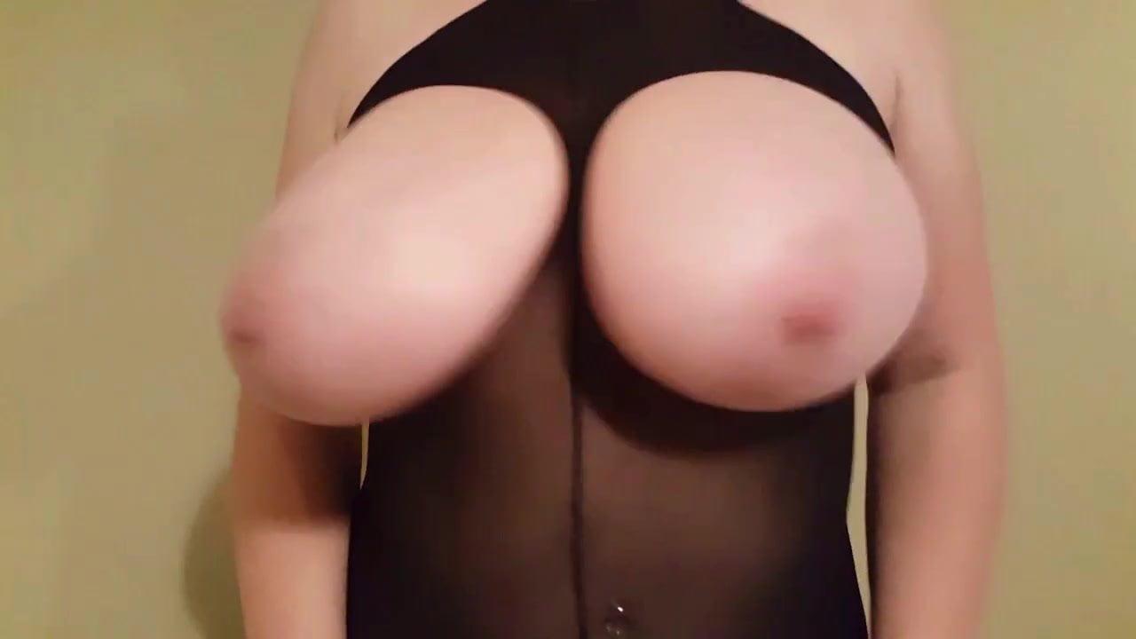 Lateshay tits natural milf oversized Juicy