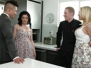 Husband Commands His Shy Wife To Fuck A Total Stranger