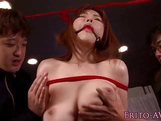 Download video bokep Bigtitted asian bound and fucked before cum Mp4 terbaru